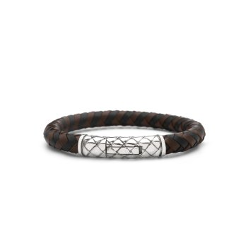 423 Armband Leather Black/Brown