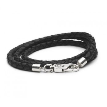 825BLK Collier Leather