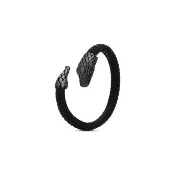 S25 Armband Zwart Rodhium